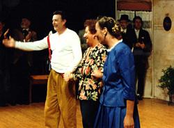 Gabriella Loss con Gasparo e la Malgari