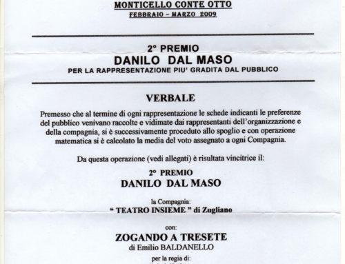 2009 – 2° Premio – Danilo Dal Maso