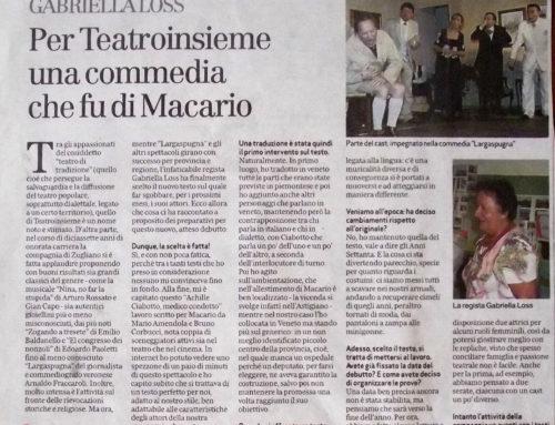 Per Teatroinsieme una commedia che fu di Macario – Il Giornale di Vicenza