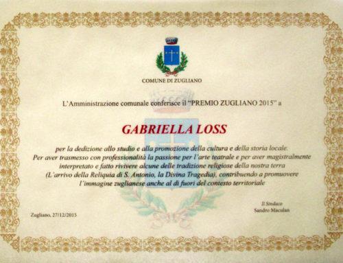 Premio Zugliano 2015
